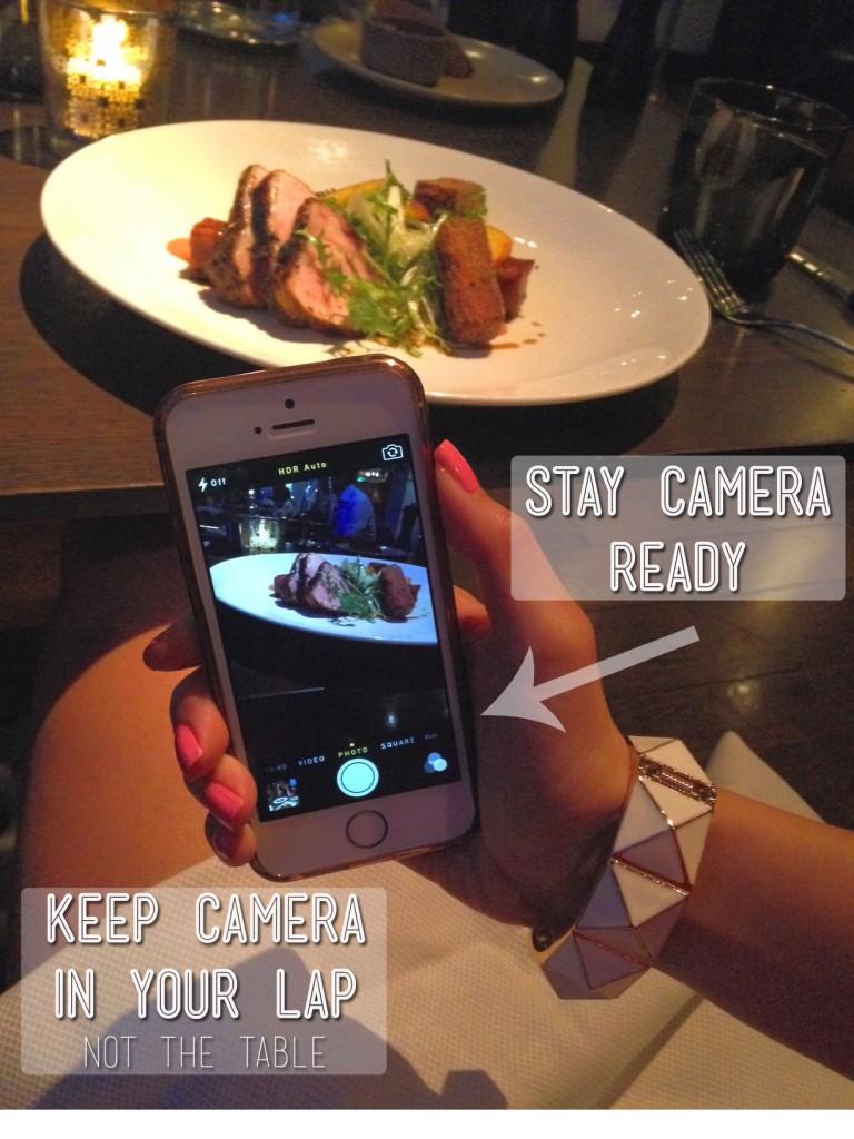 Fine Dining Camera