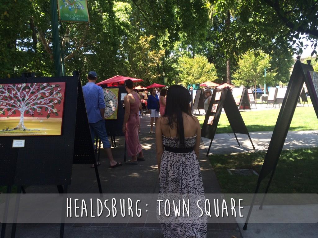 Healdsburg Town Square