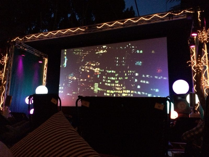 Movie under the stars- San Diego