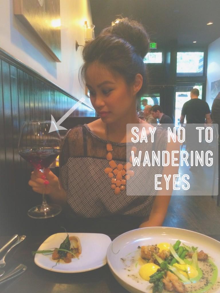 fine dining eyes