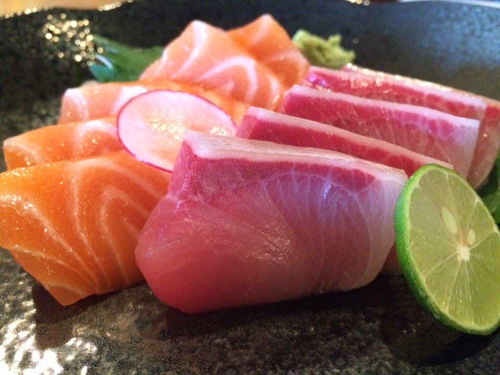 What fresh sashimi should look like