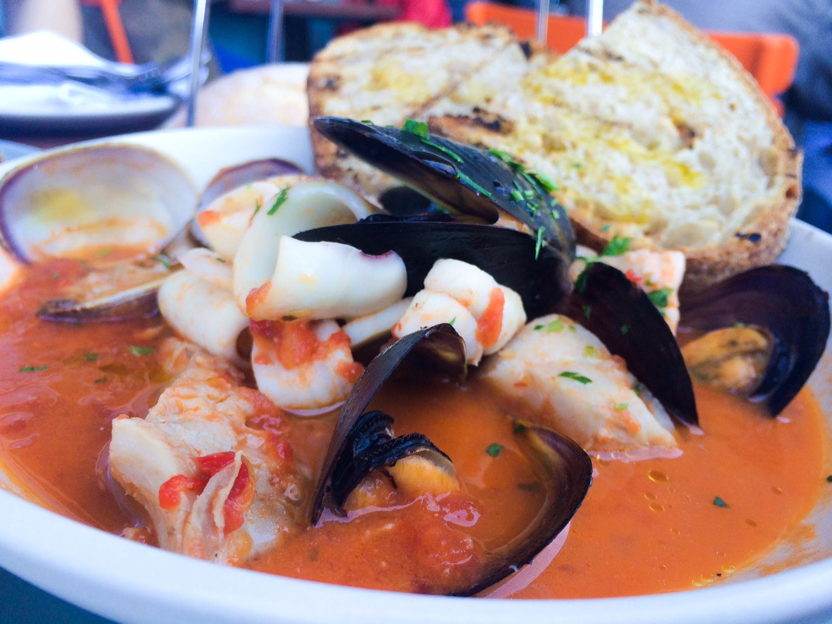 Hog Island Oyster Co- The best clam chowder & grilled cheese | Cyn ...