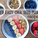 Easy Chia Seed Pudding (1 min prep time + 3 Variations)