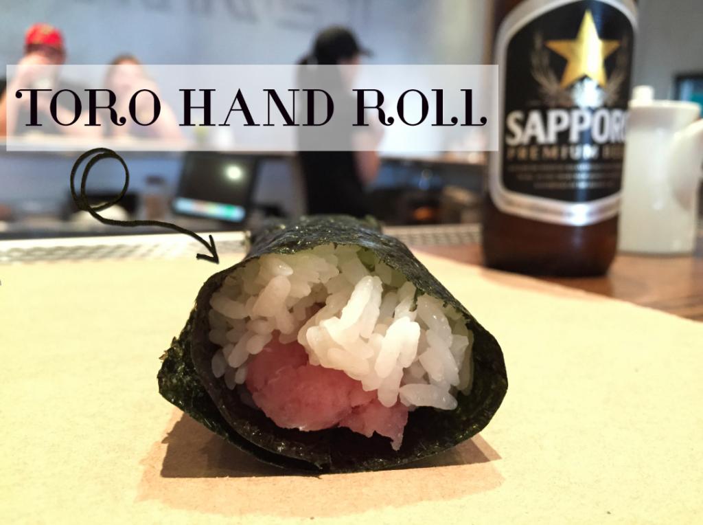 toro hand roll