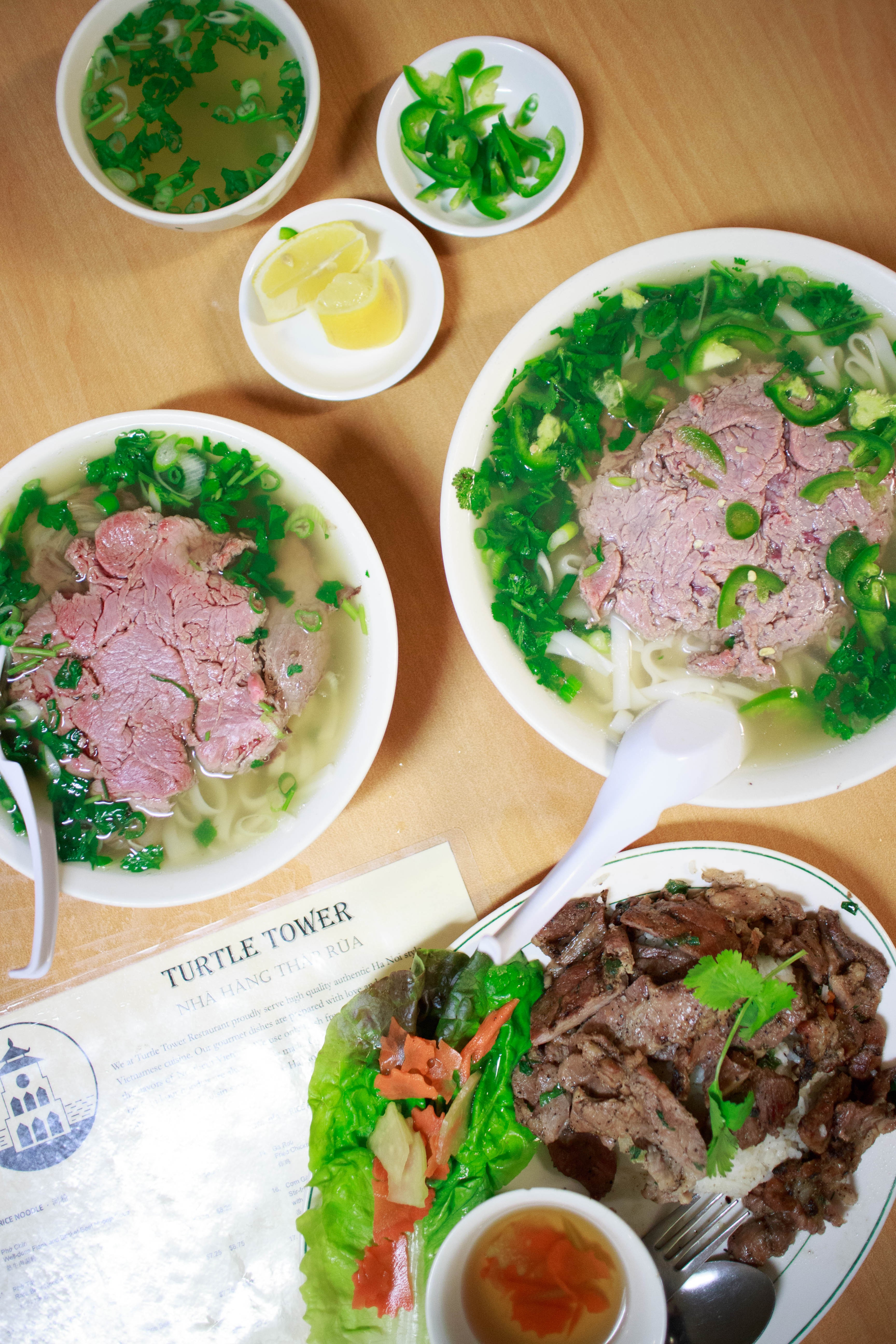 Vietnamese PHO at Turtle Tower is UNREAL | Cyn Eats - A Food