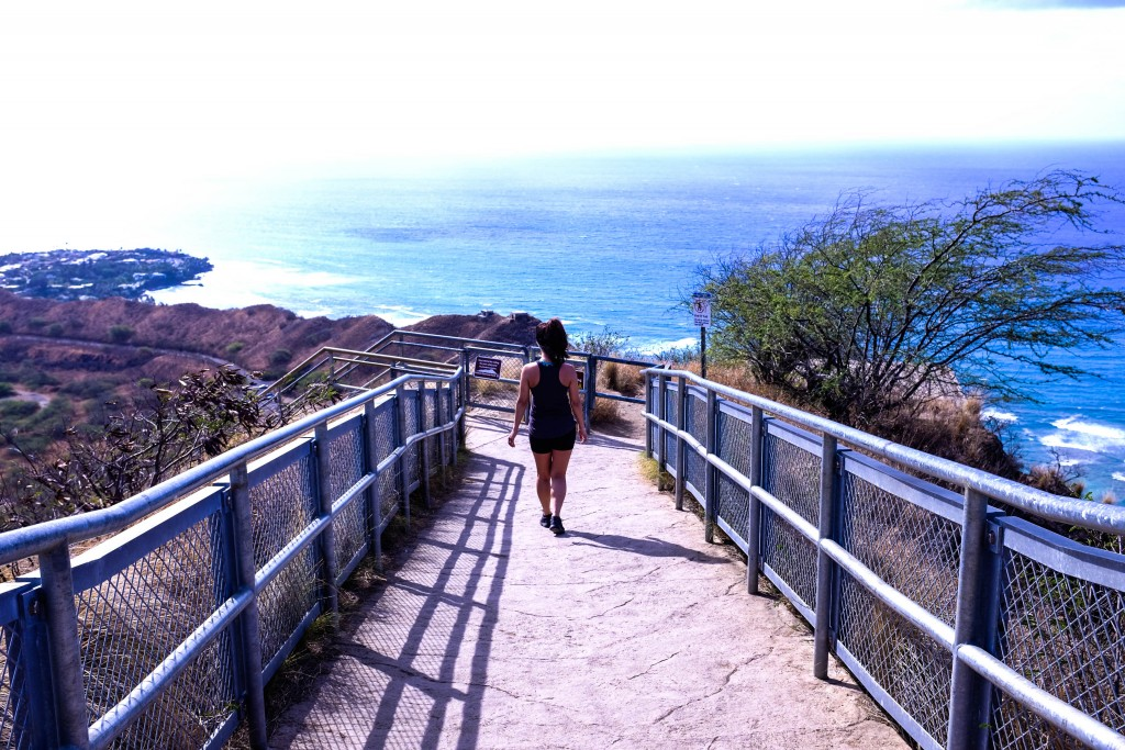Diamond Head Hike- Where to hike in Oahu