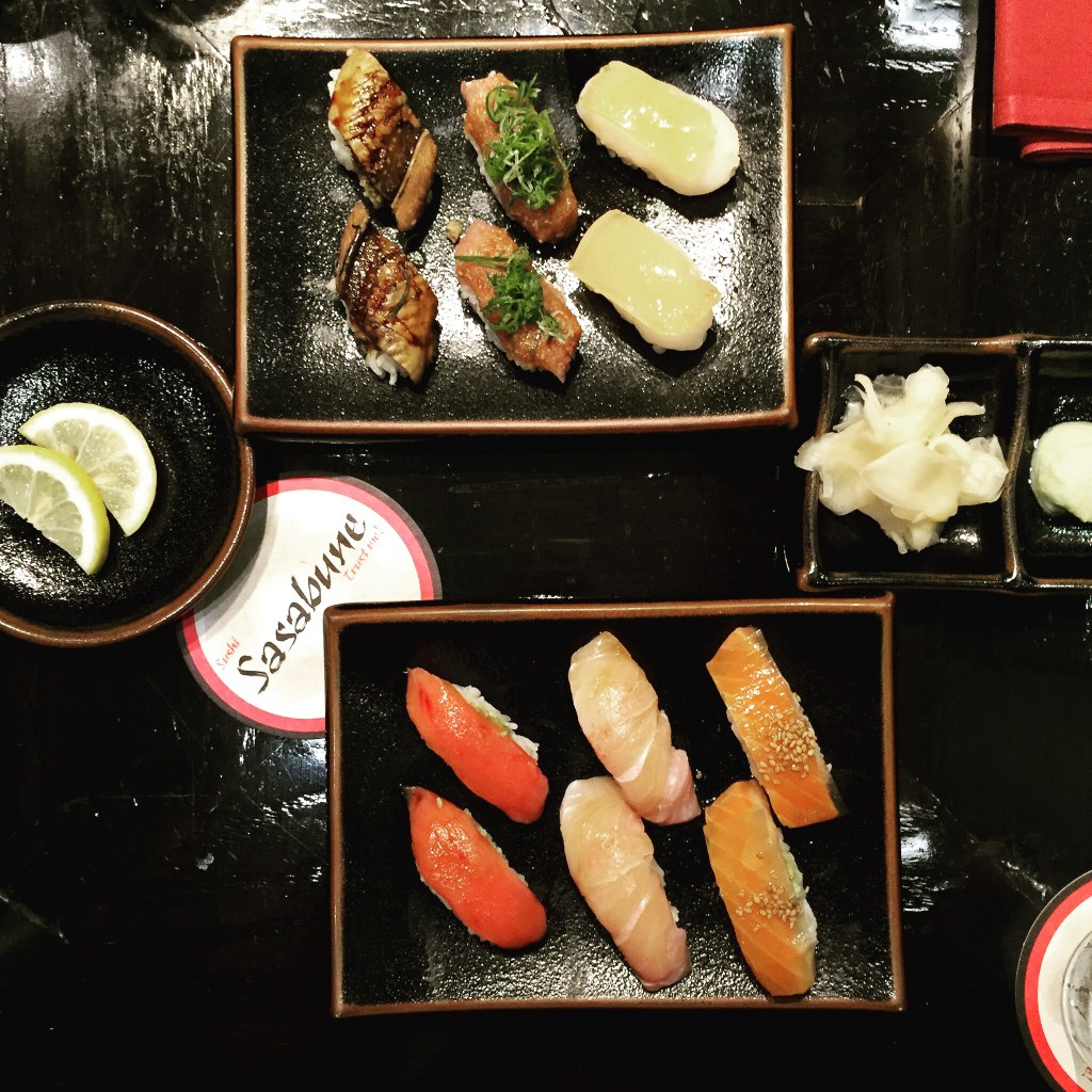 Sushi Sasubune- Yelp's top 100 sushi spot in Oahu