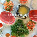 "A Vietnamese ""7 Courses of Beef"" <-- What is it & how do you eat it?"
