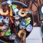 Coqueta has the most photogenic tapas and paella!